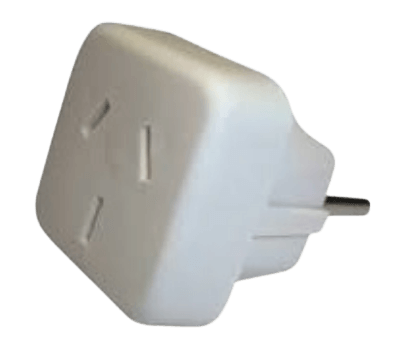 Adaptador salida 3 patas blanco - Exult