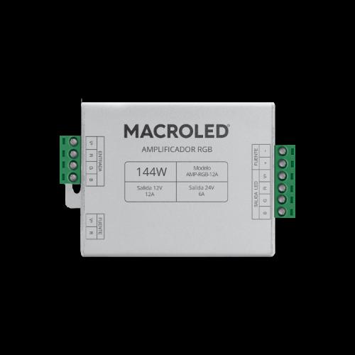 Amplificador para fuentes LED 12AMP - Macroled