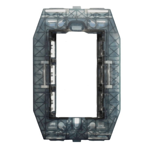 Bastidor rectangular semitransparente jónico, línea civil - Kalop