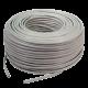 Rollo de cable UTP blanco Categoría 5 - Vapex