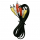 Cable armado 3RCA x 3RCA - PINI