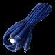 Cable armado 3RCA x 3RCA de lujo azul - PINI