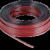 Rollo de cable bicolor paralelo rojo y negro 2x1.50mm - Flexivolt