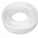 Rollo de cable bipolar paralelo blanco 2x1.50mm