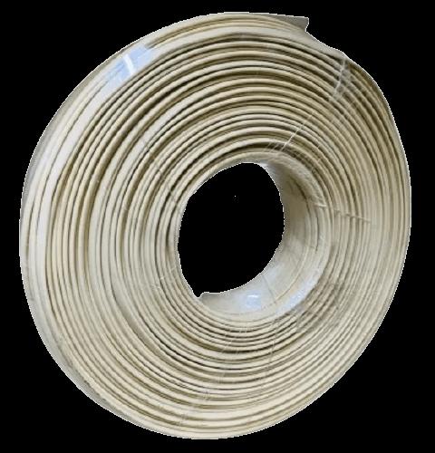 Rollo de cable plano tipo plug 4 alambres