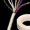 Cable para portero blanco de 3 pares, con interior expuesto y rollo