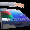 Caja de cable unipolar categoría 5, con cable blanco - Kalop