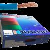 Caja de cable unipolar categoría 5, con cable celeste - Kalop