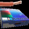 Caja de cable unipolar categoría 5, con cable marrón - Kalop