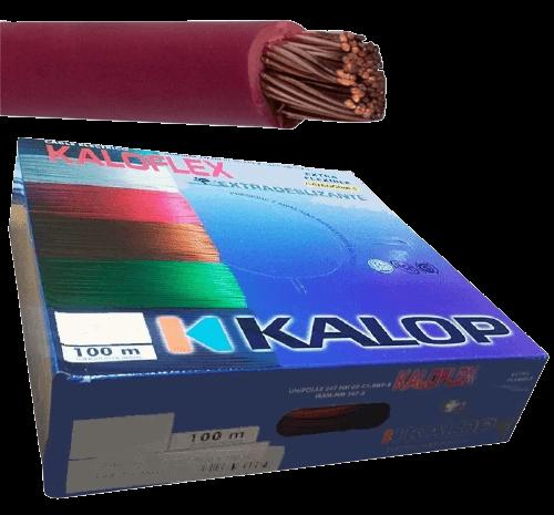 Caja de cable unipolar categoría 5, con cable rojo - Kalop