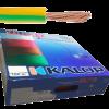 Caja de cable unipolar categoría 5, con cable verde-amarillo - Kalop