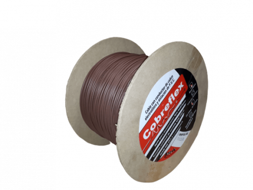 Bovina cable unipolar marrón - Cobreflex