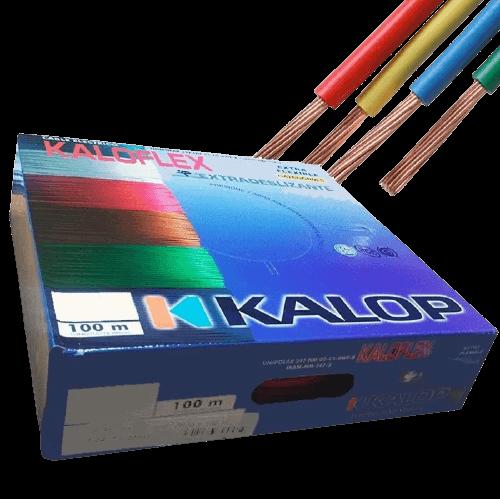 Caja de cable unipolar Categoría 5, con cables de colores - Kalop