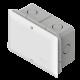 Caja de PVC de derivación embutir 16x18 gris, con tapa blanca - Genrod
