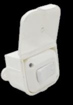 Caja capsulada de PVC, con 1 punto - TAAD