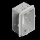 Caja de luz de PVC rectangular de embutir - Genrod