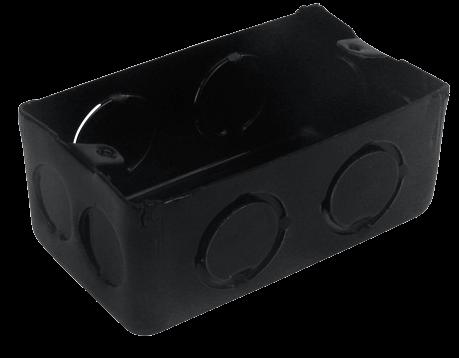 Caja de luz de hierro rectangular de embutir - A.G