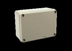 Caja de derivación de PVC gris 154X110x70 - STECK