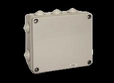 Caja de derivación de PVC gris 170X145x90 - STECK