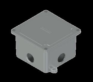 Caja de derivación de aluminio - Daisa