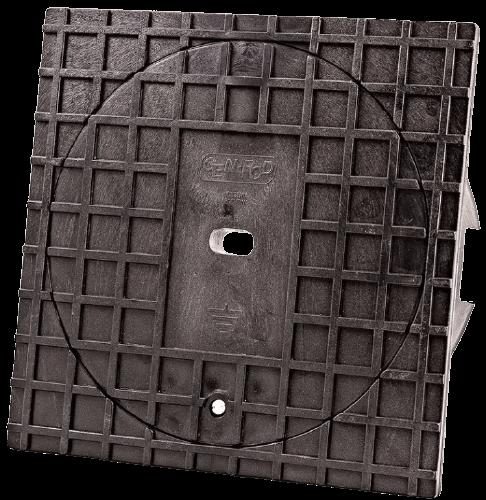 Caja inspección PVC 15x15 reforzada - Genrod