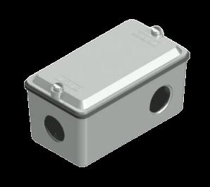 Caja múltiple de aluminio - Daisa