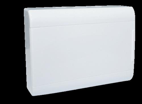 Caja de embutir de PVC para térmicas opaca, de 12 módulos - Steck