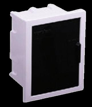 Caja de embutir de PVC para térmicas, de 4 módulos - Variplast