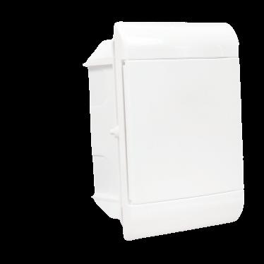 Caja de embutir de PVC para térmicas, 5 módulos - Steck