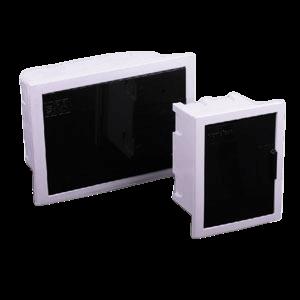 Caja de embutir de PVC para térmicas, de 9 módulos - Variplast