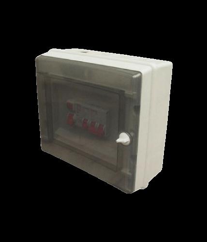Caja de exterior de PVC para térmicas, de 9 módulos - Steck