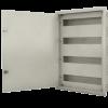 Caja de hierro de embutir para térmicas, con contrafrente calado - Forli
