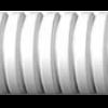 Caño PVC corrugado blanco liviano - Genrod