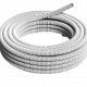 Caño PVC corrugado blanco liviano rollo - Genrod