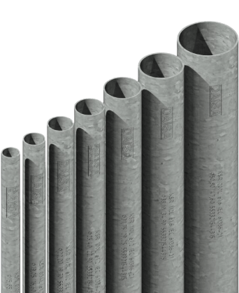Caños de aluminio, diferentes medidas - Daisa