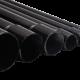Caños de hierro livianos negros, diferentes medidas