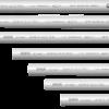 Caños de PVC rígidos grises, de diferentes medidas - Genrod