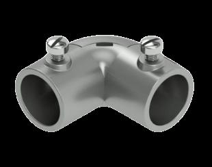 Codo registro de aluminio - Daisa