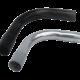 Curvas de hierro gris y negra