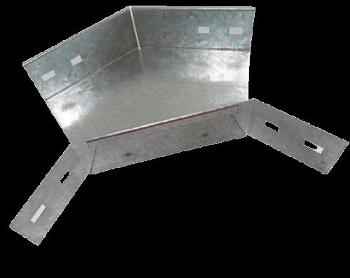 Curva plana metálica 90º para bandeja portacables - Stucchi