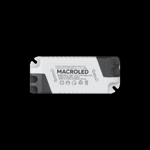 Driver panel LED 12W - Macroled