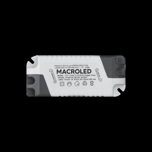 Driver panel LED 24W - Macroled