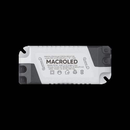 Driver panel LED 40W - Macroled