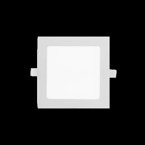 Embutido LED 12W blanco cuadrado - Macroled