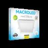 Caja de embutido LED 18W blanco cuadrado luz fría - Macroled