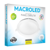 Caja de embutido LED 18W blanco redondo luz fría - Macroled