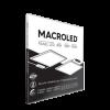 Caja de embutido LED 40W Blanco cuadrado, luz neutra - Macroled