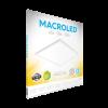 Caja de embutido LED 48W blanco cuadrado luz cálida - Macroled