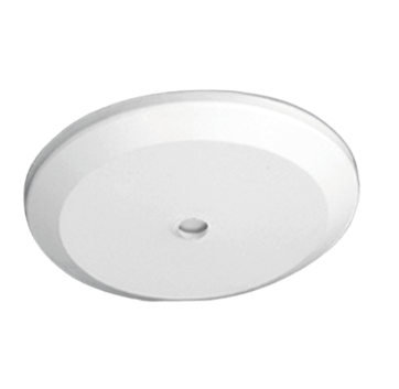 Florón blanco de PVC 12cm plano - San Justo