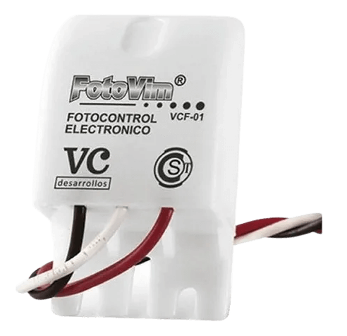 Fotocélula 1500W de 3 cables - VC Desarrollos